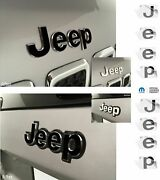 Jeep Front And Rear Emblem Overlay Decals For Jeep Cherokee