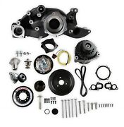 Holley Performance 20-202bk Mid-mount Accessory Drive System Kit