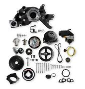 Holley Performance 20-201bk Mid-mount Accessory Drive System Kit