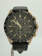 Citizen By1032-04e Box H610-s099277 Eco-drive Solar Mens Watch Auth Works