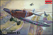 Roden 434 - Junkers D. I Late German - 1/48 Scale Model Airplane Kit 194 Mm