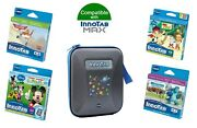 Vtech Innotab Max Games And Carry Case Bundle Blue - 4-7 Years 4 Games + 1 Case