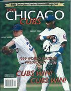Sammy Sosa Autograph Signed Gold Collectors 1999 Magazine Cubs Kerry Wood Na