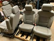 15 16 17 Yukon Xl Suburban Front Middle And Rear Seats Cocoa Brown Heat Cool An3
