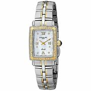 Raymond Weil 9740-sts-00995 Parsifal Womenand039s Diamond Stainless Steel Watch