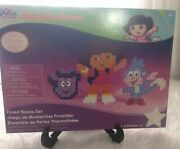 Nickelodeon Dora The Explorer And Boots Fused Beads Set Perler Kids Craft Supplies