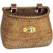 Nantucket Bicycle Basket Co. Gull Lightship Adult Classic Basket Stained