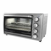 Black+decker Rotisserie Convection Countertop Toaster Oven, Stainless Steel, To