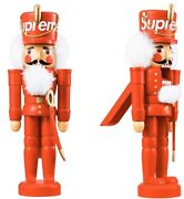 Supreme Nutcracker Fw19 Christmas Toy Decoration Box Logo -in Hand Sold Out