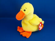 Rare And Retired Quackers The Duck Beanie Baby Style 4024