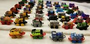 Thomas And Friends Minis Train Tank Engine Lot Shiny Gold Miniature Collection