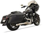 Bassani Road Rage Iii -2 /1 Stainless Steel Megaphone 1f12ss And03907-and03916 Hd Touring