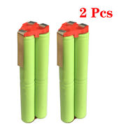 2 Pcs Replacement Snap-on Battery Ctb5172 7.2v Ni-mh 7.2 Volt