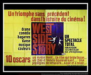 West Side Story 5x8 Ft Double French Grande Movie Poster Original 1961