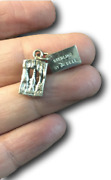Howe Caverns Charm Sterling Silver Charm By Bell Trading Post Vintage