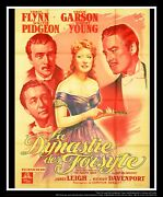 That Forsyte Woman On Linen 4x6 Ft French Grande Movie Poster Original 1949
