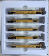 Walthers Mainline Ho Thrall 5-unit Rebuilt 40' Well Car Dttx 748260a-e 910-55615