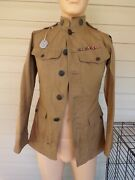 Ww1 Aef Summer Weight Cotton Jacket Nice Bullion Patch. Named And Idand039ed