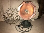 Antique Marion 45 Radiator Copper Bowl Electric Heater Patented 1906 Works Rare
