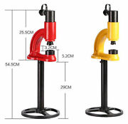 Syd-35 Split Type Hand Hydraulic Hole Saw With Cp-180 Hand Pump T