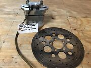 Harley Driver Side Brake Setup For Pulley Rear Drive W/performance Mach Rotor