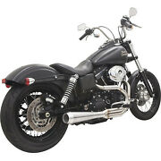 Bassani 1d1ss Road Rage Iii 2-into-1 Exhaust System Harley Fxd Dyna 91-17