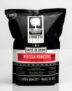 Corretto Suite Italian Roasted Coffee Beans 2.2lbs X 10 Packs