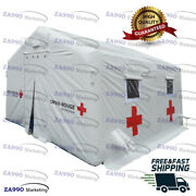 16x15ft Inflatable Medical Hospital Military / Blood Donation Tent With Air Pump