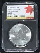 2019 S5 Canada Maple Leaf 40 Anniversary Release Ms70 First Day 79-191at1290o
