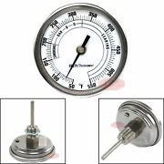 3 Bbq Pit Grill Thermometer Cooking Dial 550f Temp Gauge Smoker Temperature New