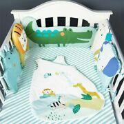 Baby Bed Bumper Cotton Crib Bumper Kids Bed Baby Cot Protector Baby Room Decor