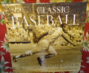 Baseball Book Vintage Classic - Photos By Walter Iooss Jr Text By Dave Anderson
