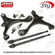 Front Lower Control Arm Ball Joint Tie Rod Kit For Honda Civic 2001-2005 8pc