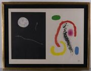 Joan Miro Lithograph Signed And Numbered 1961 - Picasso Dali We Love Best Offers