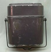 Vintage Ww Ll 2 Swiss Mess Kit Dated 1940 And 1942