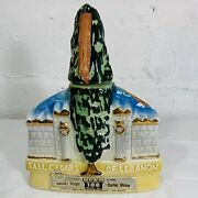 Vintage 1971 James Beam Tcl New York City 100 Month Old Whiskey Decanter