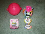 Pikmi Pops Bubble Drops Neon Wild Rare Clomp The Pony With Apple Charm