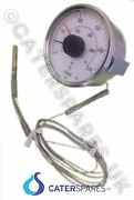 Gas Frying Range Fryer Temperature Heat Thermostat Clock Control Dial 80mm Round