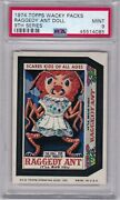 1974 Topps Wacky Packages Raggedy Ant Psa 9 Mint Series 9 Packs Centered Tough