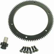 Compu-fire 10/84 Hardened Steel Ring Gear And Pinion Set For Harley 98-06 Big Twin