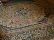 Antique Farahan Sarouk Rug 4and0393and039and039x6and0395and039and039 Circa1890s