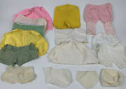 Vintage Doll Clothes German French China Doll Pants Underwear Outfit Lot Antique