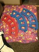 Replacement Lot Of 3 Vintage Playskool Plastic Track Pcs 4 Child Ride On Train