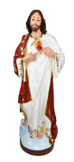 Sacred Heart Of Jesus Christ Lord Catholic 45 Inch Indoor And Outdoor Statue