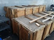 Two Large Shipping Crate For Sale