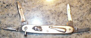 1885 Sterling Curleyand039s George Wostenholm Folding Knife