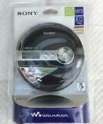For Collectors Only - Sony Mp3 Fm Radio Personal Cd Player - Black D-nf340/bc