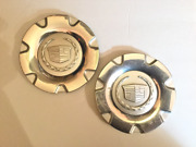 Two 2 Used Cadillac Srx Silver Wheel Center Hubcaps P/n 9596275 Car Parts Auto