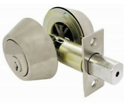Lot Of 3 Ultra Hardware 83978 Stainless Steel Deadbolt Ultra Security Series
