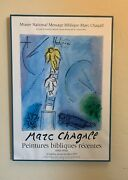 Marc Chagall Jacobs Ladder Orig. 1977 Exhibition Lithograph